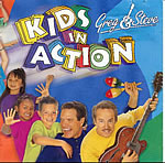 Greg and Steve: Kids in Action CD