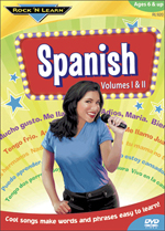 Spanish Educational Music DVD