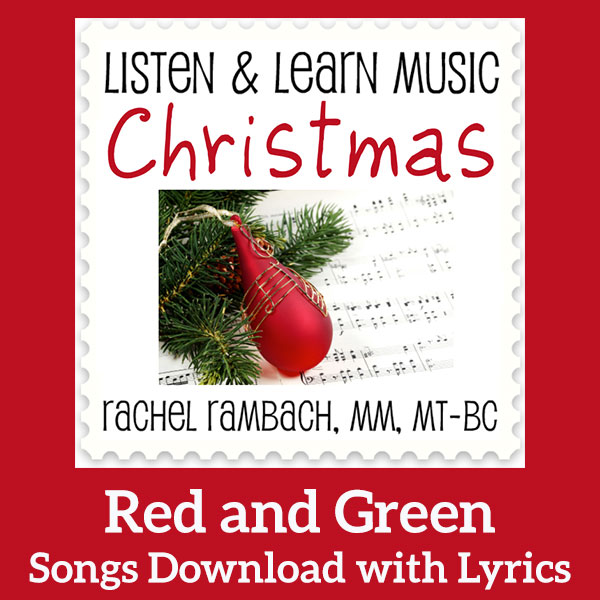 Listen and Learn: Red and Green Sheet Music Download