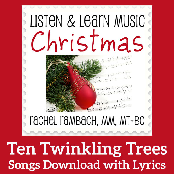 Listen and Learn: Ten Twinkling Trees Sheet Music Download