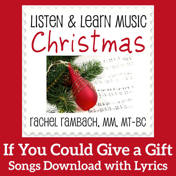 If You Could Give a Gift: Printable Music
