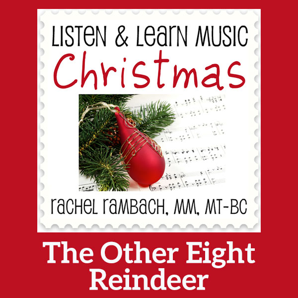 The Other Eight Reindeer: Printable Music