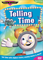 Telling Time Video DVD
