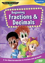 Beginning Fractions and Decimals DVD