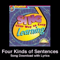 4 Kinds of Sentences Song Download with Lyrics