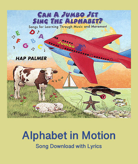 Alphabet in Motion Music Notation Download