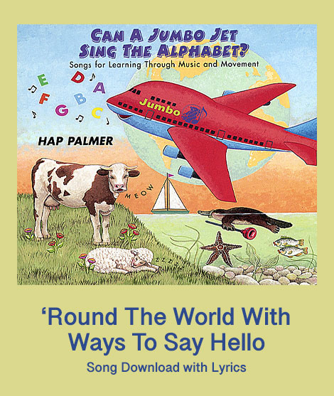 Round The World With Ways To Say Hello Lead Sheets