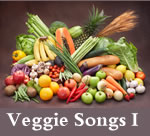 Veggie Songs:  Asparagus, Beans and Peas