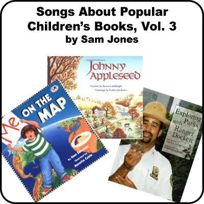 Songs About Popular Childrens Books Vol 3:  Downloadable Tracks with Lyrics