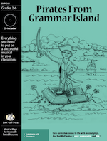 Pirates From Grammar Island Downloadable Musical Play with Printables