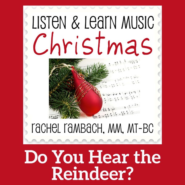 Do You Hear the Reindeer? Printable Music Notation