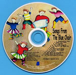 Songs From the Blue Chair CD with Printable Lyrics
