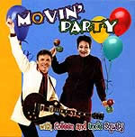 Movin Party Educational Music CD or Download