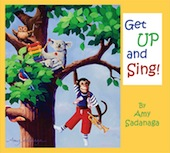 Amy Sadanaga:  Get Up and Sing CD