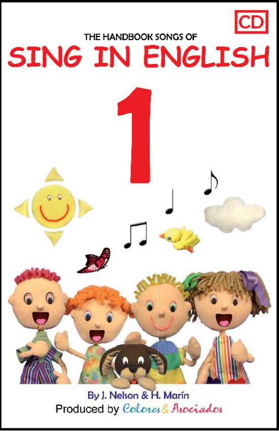 Sing in English Volume 1 Downloadable Album-Book Set