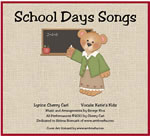 School Days Songs Downloadable Album with Printables