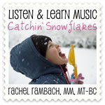 Catchin Snowflakes Downloadable Tracks with Lyrics