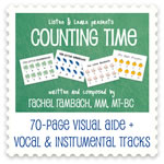 Counting Time Collection Downloadable Tracks with Printables