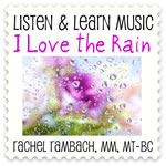 I Love the Rain Downloadable Tracks with Lyrics