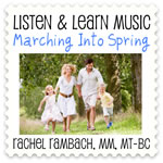 Marching Into Spring Downloadable Tracks with Lyrics