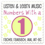 Numbers With a 1 Downloadable Tracks with Lyrics