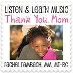 Thank You Mom Downloadable Tracks with Lyrics