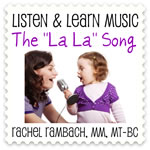 The La La Song Downloadable Tracks with Lyrics