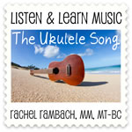 The Ukulele Song Downloadable Tracks with Lyrics