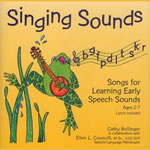 Singing Sounds: Songs for Learning Early Speech Sounds