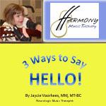 3 Ways To Say Hello Downloadable Mini Album with Lyrics