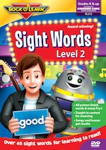 Sight Words Level 2 DVD
