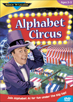 Alphabet Circus Video DVD