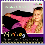 Monkey Song and Lesson Plans