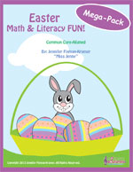 Easter Math and Literacy FUN Mega-Pack