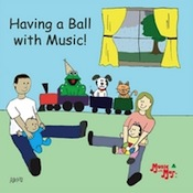Music with Mar: Having A Ball With Music CD