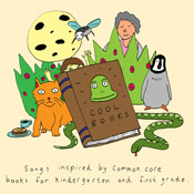 Cool Books: Song Inspired by the Common Core Exemplars for Kindergarten & First Grade