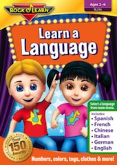Rock 'n Learn: Learn A Language DVD