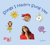 Music with Mar: Songs I Hadn't Sung Yet CD