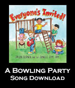 A Bowling Party Song Download with Lead Sheet