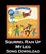Squirrel Ran Up My Leg Song Download with Lyrics
