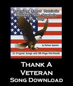 Thank A Veteran Song Download with Printables