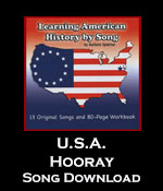USA Hooray Song Download with Printables
