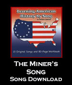 The Miner's Song Download with Printables