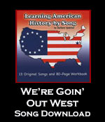 We're Goin' Out West Song Download with Printables