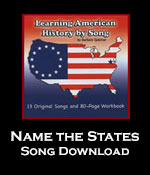Name The States Song Download with Printables