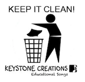 Keep It Clean! Song Download with Lyrics & Lesson Materials