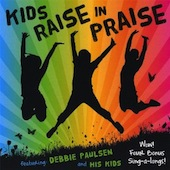 Kids Raise In Praise Music CD with Lyrics