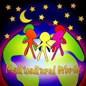 Multicultural World Song Downloadable Tracks  with Lyrics
