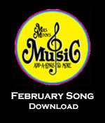 February Song Download Tracks with Printables