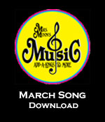 March Song Download Tracks with Printables